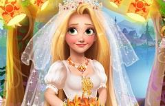 Printesa Blonda Nunta Fashion