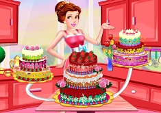 Printesa Dede Decoreaza Tortul