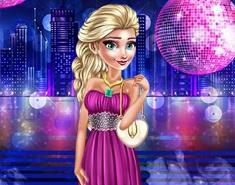 Printesa Elsa in Clubul de Noapte
