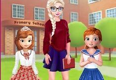Printesa Elsa si Ziua Profesorilor