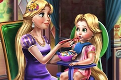 Printesa Goldie Hraneste Bebelusul