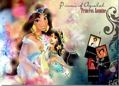 Printesa Jasmin Puzzle
