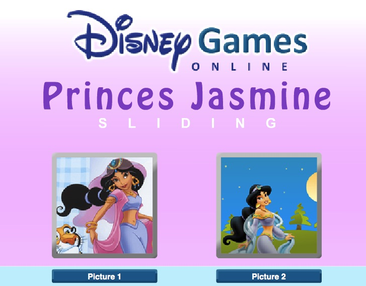 Printesa Jasmine Imagini Puzzle