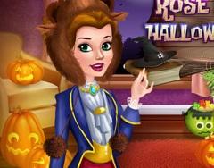 Printesa Trandafir Castel de Halloween