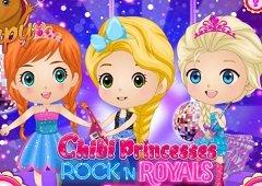 Printese Bebelus Rock N Royals