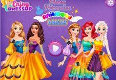 Printese Disney Rochii Curcubeu