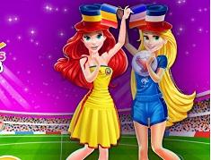 Printesele Disney la Euro 2016