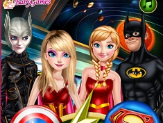 Printesele Marvel sau DC