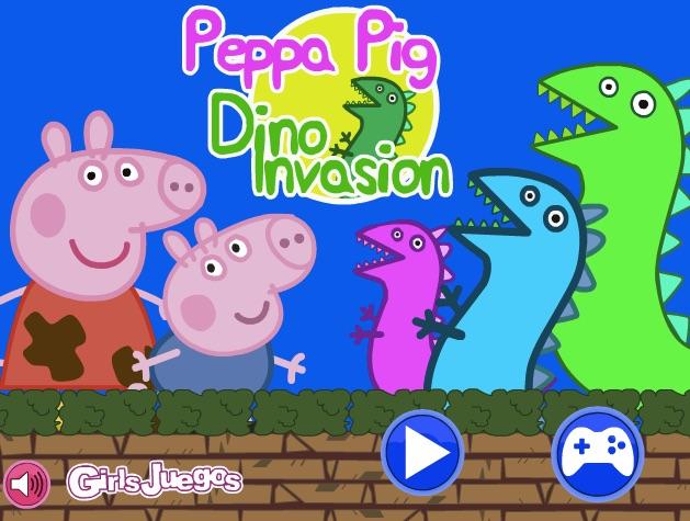 Purcelusa Peppa Invazia Dinozaurilor