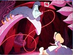 Puzzle cu Alice in Tara Minunilor…