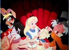 Puzzle cu Alice si Mad Hatter
