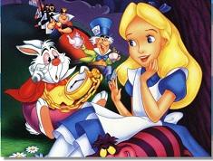 Puzzle cu Alice si Prietenii Ei