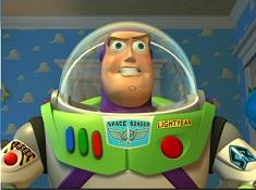 Puzzle cu Astronautul Buzz Lightyear