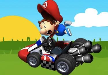 Puzzle cu Bebelusul Mario Kart