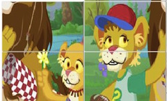 Puzzle cu Between the Lions