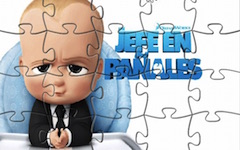 Puzzle cu Boss Baby