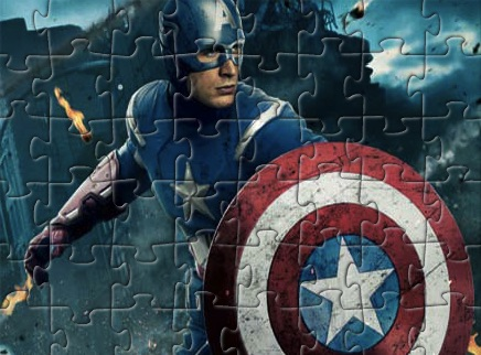 Puzzle cu Capitanul America 2