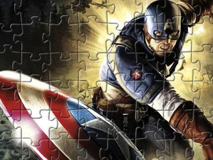 Puzzle cu Capitanul America 3