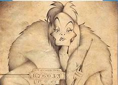 Puzzle cu Cruella de Vil