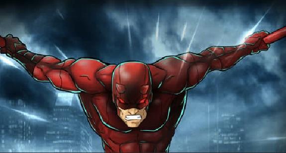 Puzzle cu Daredevil