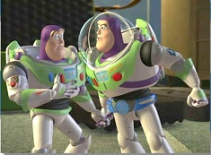 Puzzle cu Doi Buzz Lightyear