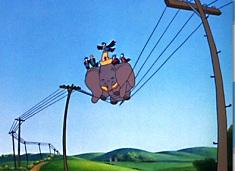 Puzzle cu Dumbo si Pasarelele