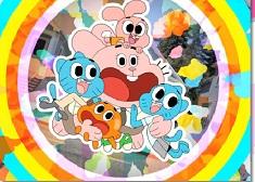 Puzzle cu Familia lui Gumball