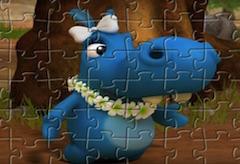Puzzle cu Fetita Happos