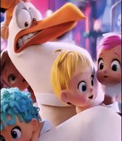 Puzzle cu Filmul Storks