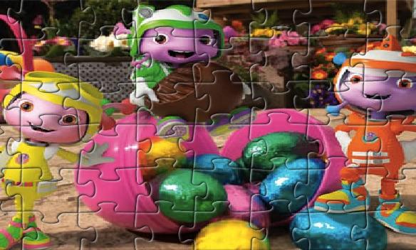 Puzzle cu Floogals