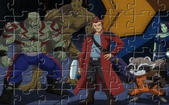 Puzzle cu Gardienii Galaxiei