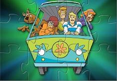 Puzzle cu Gasca Scooby Doo