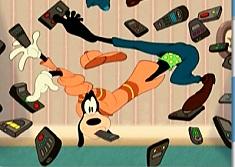 Puzzle cu Goofy si Telecomenzile