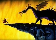 Puzzle cu Hercules si Dragonul