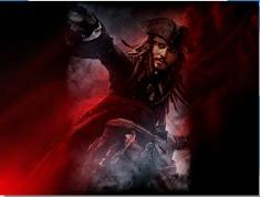 Puzzle cu Jack Sparrow