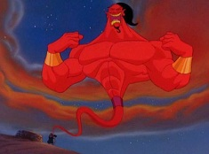 Puzzle cu Jafar Genie