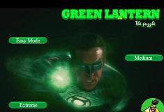 Puzzle cu Lanterna Verde