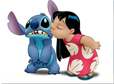 Puzzle cu Lilo si Stitch Pupic