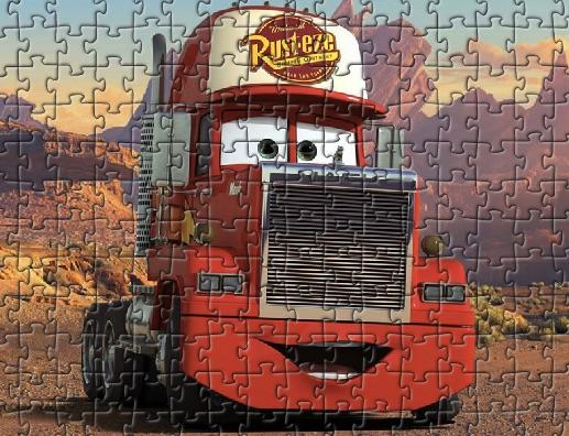 Puzzle cu Mack