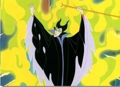 Puzzle cu Maleficent si Blestemul