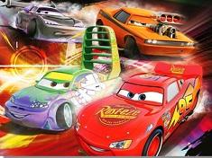 Puzzle cu Masinile Disney