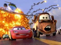 Puzzle cu Mater si Fulger McQueen