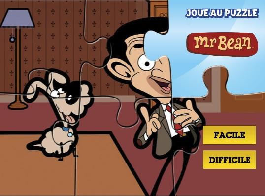 Puzzle cu Mr Bean