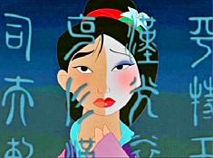 Puzzle cu Mulan Trista