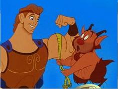 Puzzle cu Musculosul Hercules