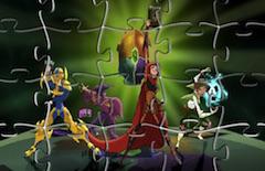 Puzzle cu Mysticons