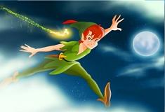 Puzzle cu Peter Pan pe Nori