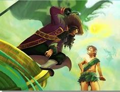 Puzzle cu Peter Pan si Capitanul…
