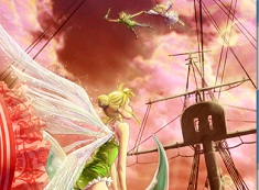 Puzzle cu Peter si Wendy si Tinkerbell