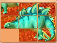 Puzzle cu Prietenii Dinozauri